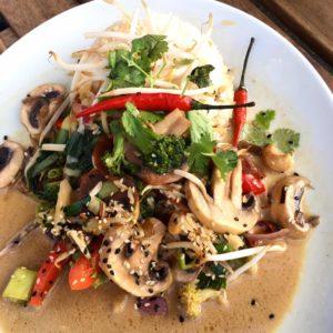 Asia Gemüse Curry