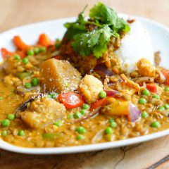 Indisches Dal Curry